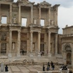 İzmir'e Efes Antik Kenti'ni Görmeye Gittim