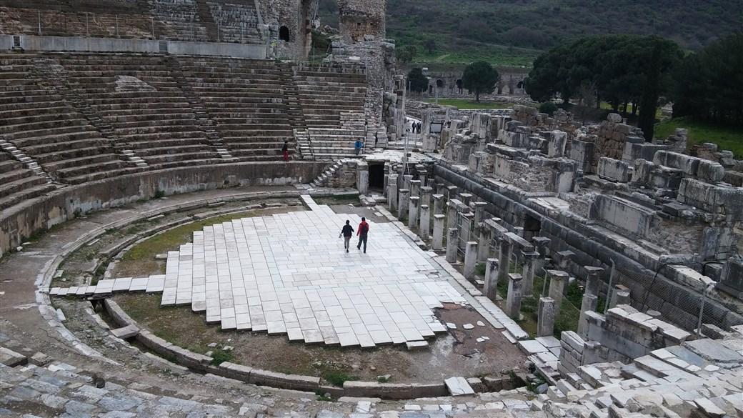 İzmir'e Efes Antik Kenti'ni Görmeye Gittim  Geziyoruz.ORG