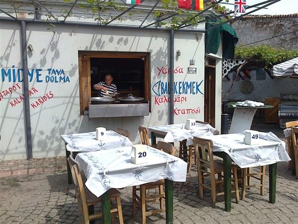 Bozcaada restoran