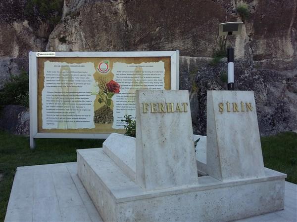 Ferhat ile Şirin mezarı