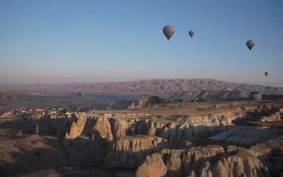Uçhisar'da Balon Yolculuğu