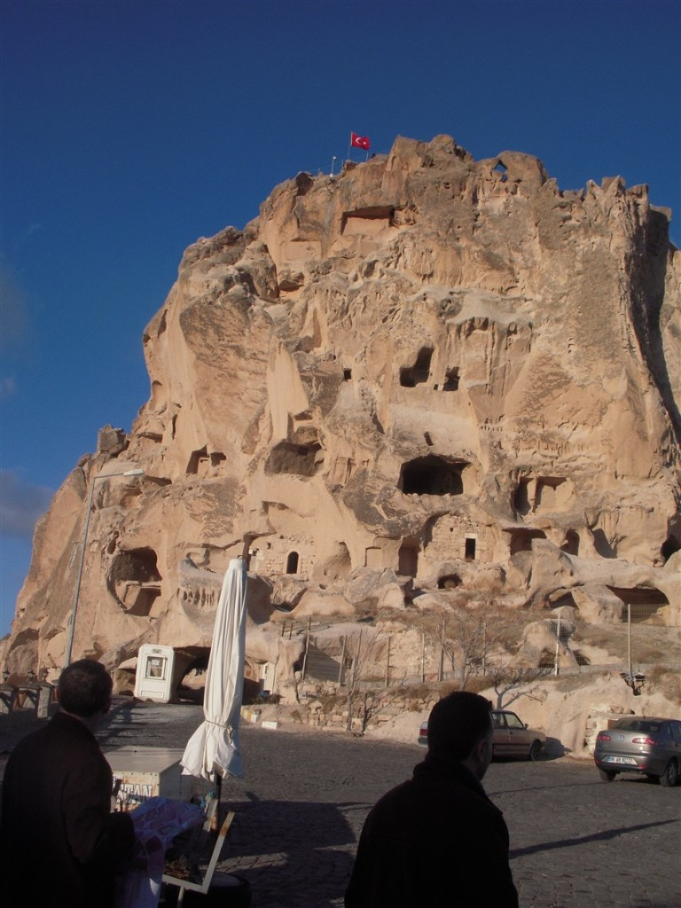 Kapadokya kaya evleri