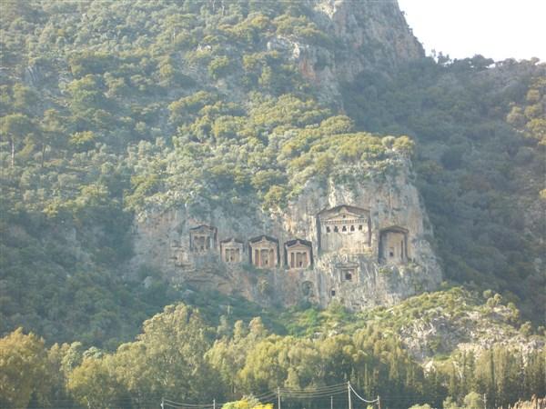 Fethiye Kaya Mezarları
