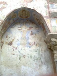 Noel Baba kilisesinde Hz. İsa figürü