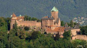 Haut Koenigsbourg Kalesi hakkında kısa bilgiler