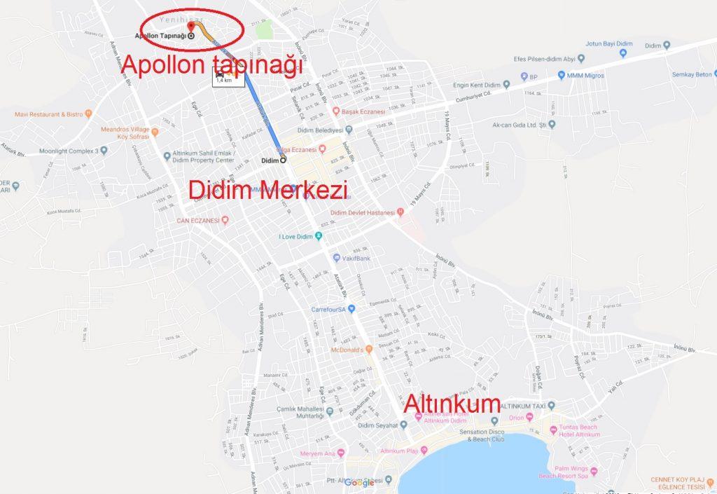 Apollon Tapınağı nerede nasıl gidilir