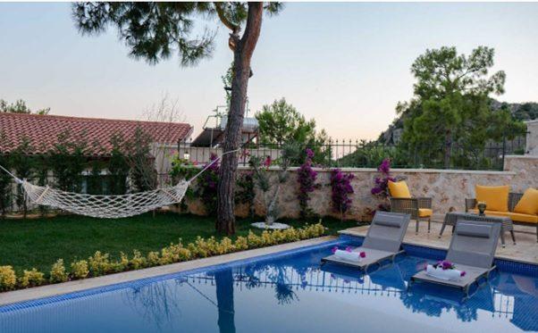 Antalya Kalkan'da Villa Tatili